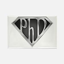 Super PhD - metal Rectangle Magnet (100 pack)