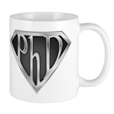 Super PhD - metal Small Mug