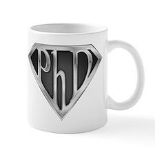 Super PhD - metal Small Mugs