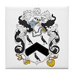 Williams Family Crest Tile Coaster