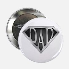 """SuperDad - Metal 2.25"""" Button"""