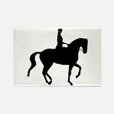 Piaffe Equestrian Rectangle Magnet