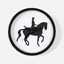 Piaffe Equestrian Wall Clock