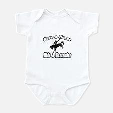 """""""Save Horse, Ride Bartender"""" Infant Bodysuit"""