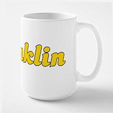 Retro Franklin (Gold) Mug