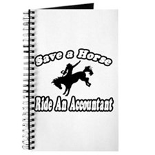 """Save Horse, Ride Accountant"" Journal"