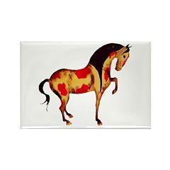 Prancing Tang Horse Rectangle Magnet (100 pack)