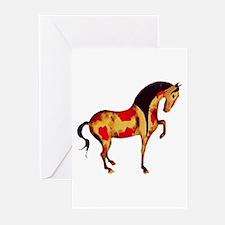 Prancing Tang Horse Greeting Cards (Pk of 10)