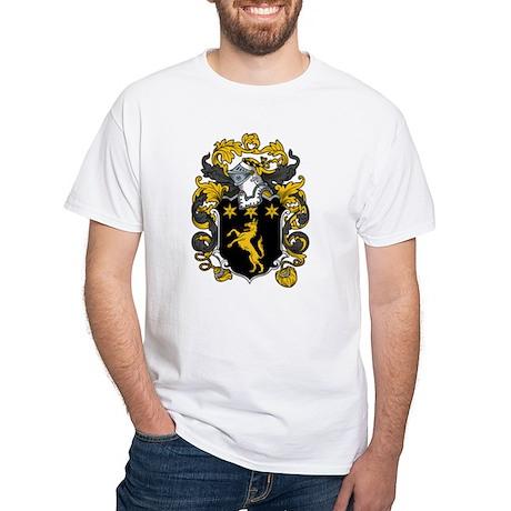 Wilson Family Crest White T-Shirt