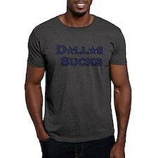 Dallas Sucks Charcoal T-Shirt