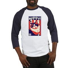 Obey the Kity! Ragdoll USA Baseball Jersey