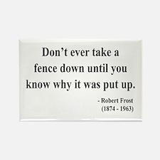 Robert Frost 17 Rectangle Magnet