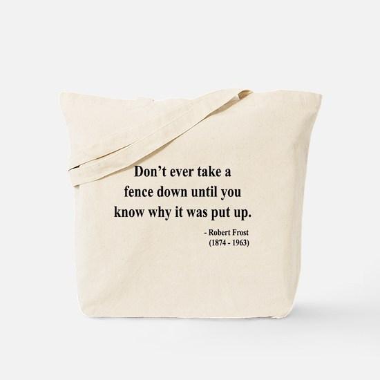Robert Frost 17 Tote Bag