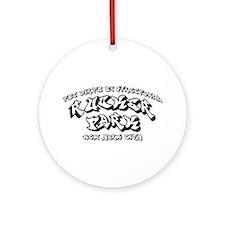 Rucker Park Ornament (Round)