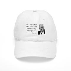 Robert Frost Quote 17 Baseball Cap