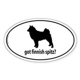 Got finnish spitz Bumper Stickers