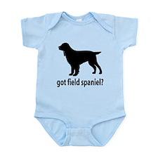 Got Field Spaniel? Infant Bodysuit