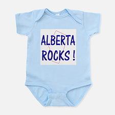Alberta Rocks ! Infant Creeper