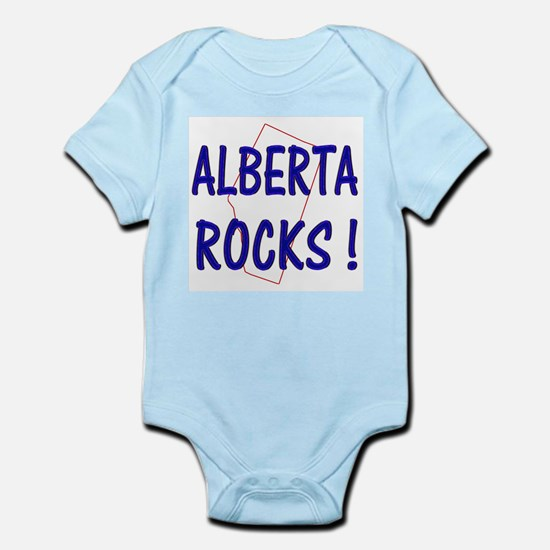 Alberta Rocks ! Infant Creeper