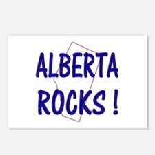 Alberta Rocks ! Postcards (Package of 8)