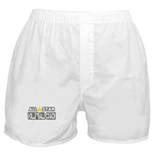 """All Star Volleyball Coach"" Boxer Shorts"