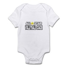 """All Star Volleyball Coach"" Infant Bodysuit"