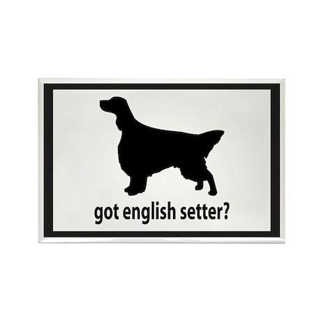 Got English Setter? Rectangle Magnet