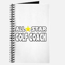 """""""All Star Golf Coach"""" Journal"""