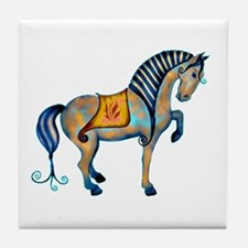 Tang Horse Two Tile Coaster