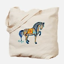 Tang Horse Two Tote Bag
