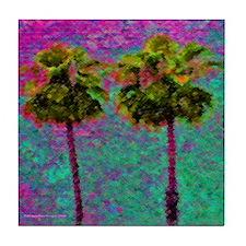 PalmArt Tile Coaster