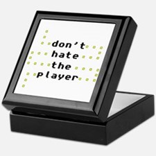 Don't Hate the Player Keepsake Box