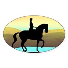 Dressage By The Sea Decal