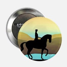 "Dressage By The Sea 2.25"" Button"