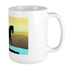 Dressage By The Sea Mug