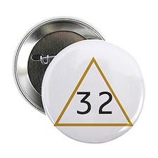 """32 in triangle 2.25"""" Button"""