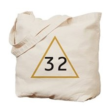 32 in triangle Tote Bag