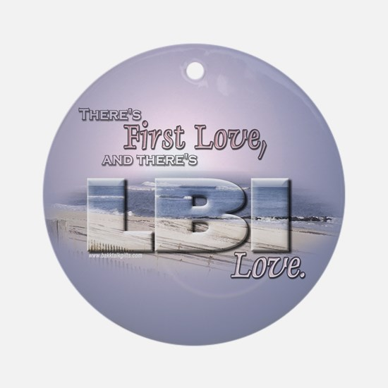 LBI Love... Ornament (Round)