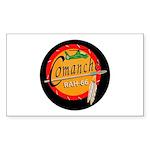 U.S. Army Comanche Rectangle Sticker