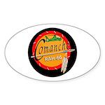 U.S. Army Comanche Oval Sticker