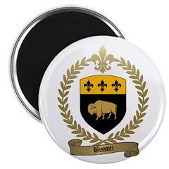 BISSON Family Crest Magnet