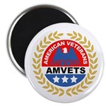 American Veterans for Vets Magnet