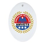American Veterans for Vets Keepsake (Oval)
