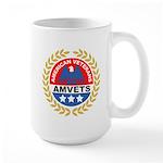 American Veterans for Vets Large Mug