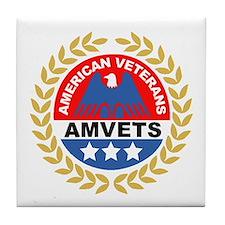 American Veterans for Vets Tile Coaster