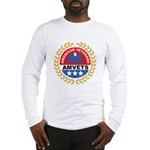 American Veterans for Vets (Front) Long Sleeve T-S