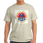 American Veterans for Vets (Front) Ash Grey T-Shir