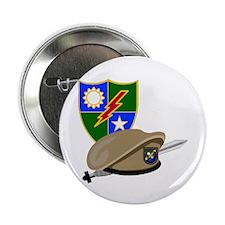 """Army Ranger Beret Dagger 2.25"""" Button (10 pack)"""