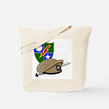 Army Ranger Beret Dagger Tote Bag