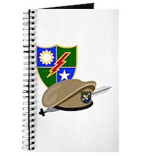 Army Ranger Beret Dagger Journal